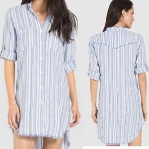 Anthropologie Cloth & Stone striped tuni/dress